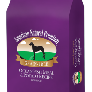 american natural premium, ocean fish meal & potato recipe