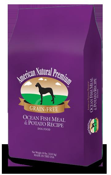 american natural premium, ocean fish meal & potato recipe