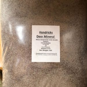 bag of hendricks deer mineral.