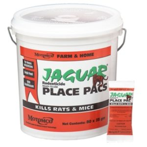Jaguar Place Packs pail